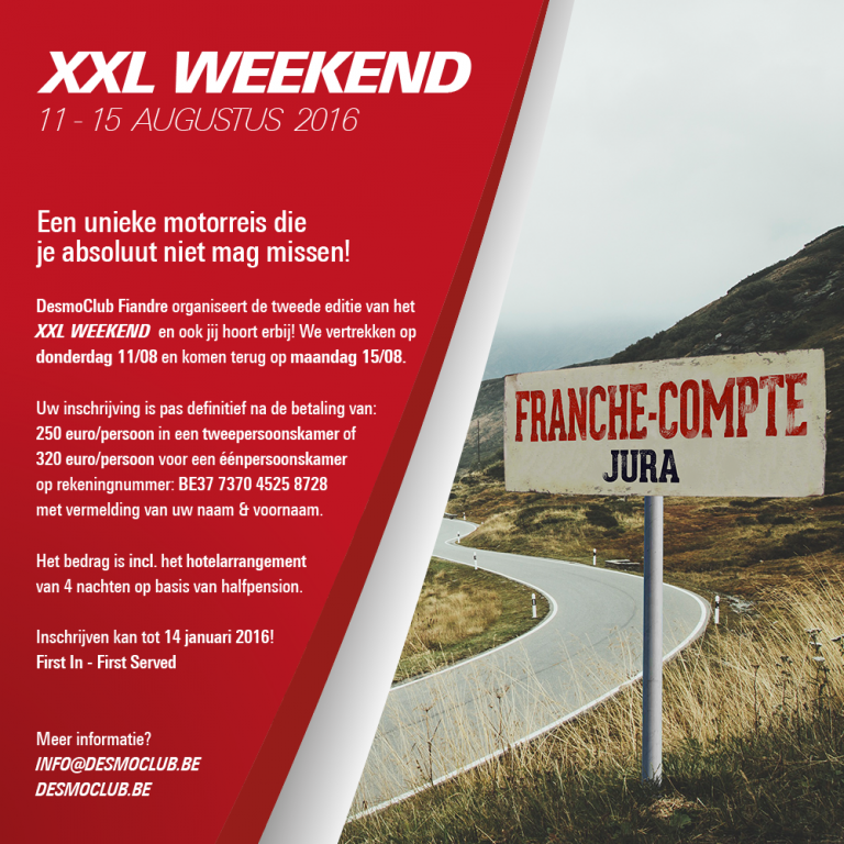 Flyer XXL Weekend